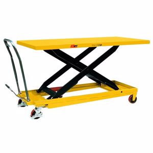 Picture of Huge Deck Size Scissor Lift Trolley with Foot Pump 500kg (Brisbane)
