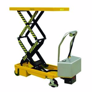 Picture of Double Electric Scissor Lift Trolley 350kg (Brisbane)