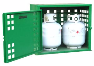 Picture of 2 x 9kg LPG Storage Cage