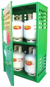 Picture of 4 x 9kg LPG Storage Cage