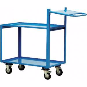 Picture of 2 Tier Order Picking Trolley 1000mm x 700mm Brisbane