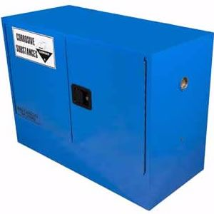 Picture of 100 Litre Corrosive Safety Cabinet 2 Doors and 1 Shelf
