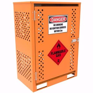 Picture of Gas Storage for 4 x Forklift Gas Cylinders