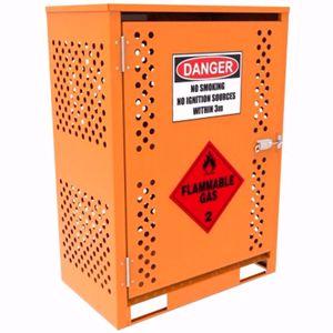 Picture of 8 x 9kg LPG Storage Cage - Brisbane