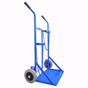 Picture of Welding Trolley for 1 x G Size Oxygen and 1 x G Size Acetylene