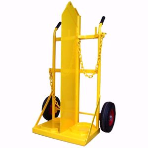 Picture of Welding Trolley for 1 x G Size Oxygen and 1 x G Size Acetylene with Crane Lift